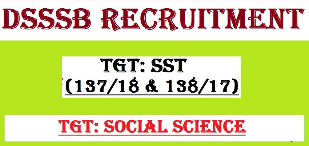 DSSSB TGT Classes in rohini