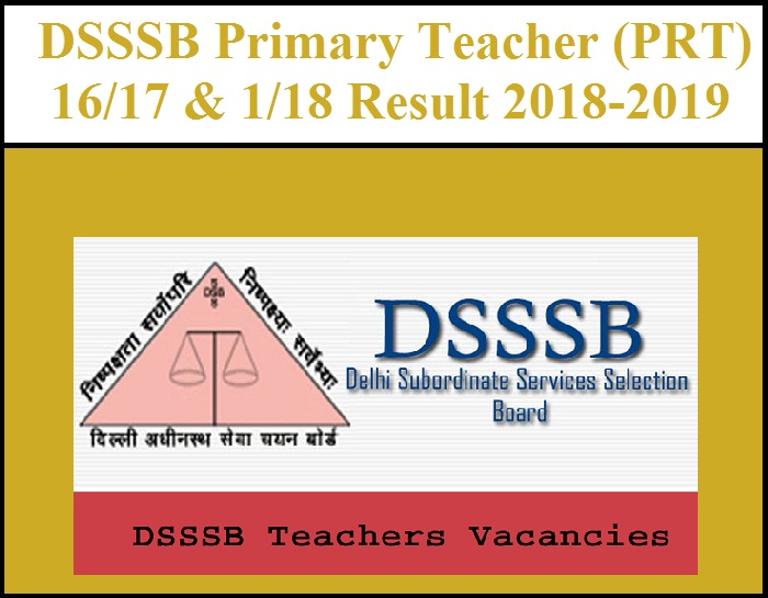 DSSSB PRT Classes in rohini