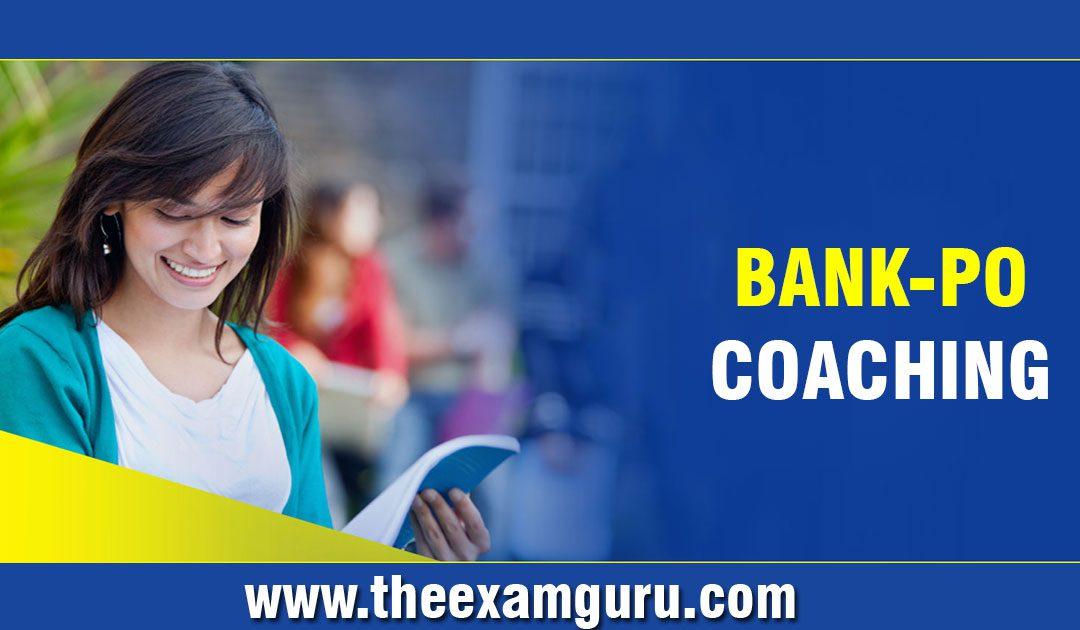 Bank PO Coaching in Delhi