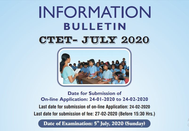 CTET 2020 Notification all Details